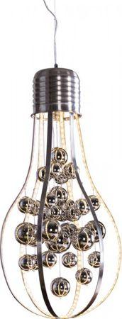 LED Pendelleuchte GLAMOUR Glühlampenform Ø 37 cm 32W