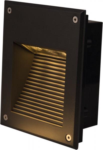 LED Wandeinbauleuchte DORA 3x1W 16,5x19,5cm IP65