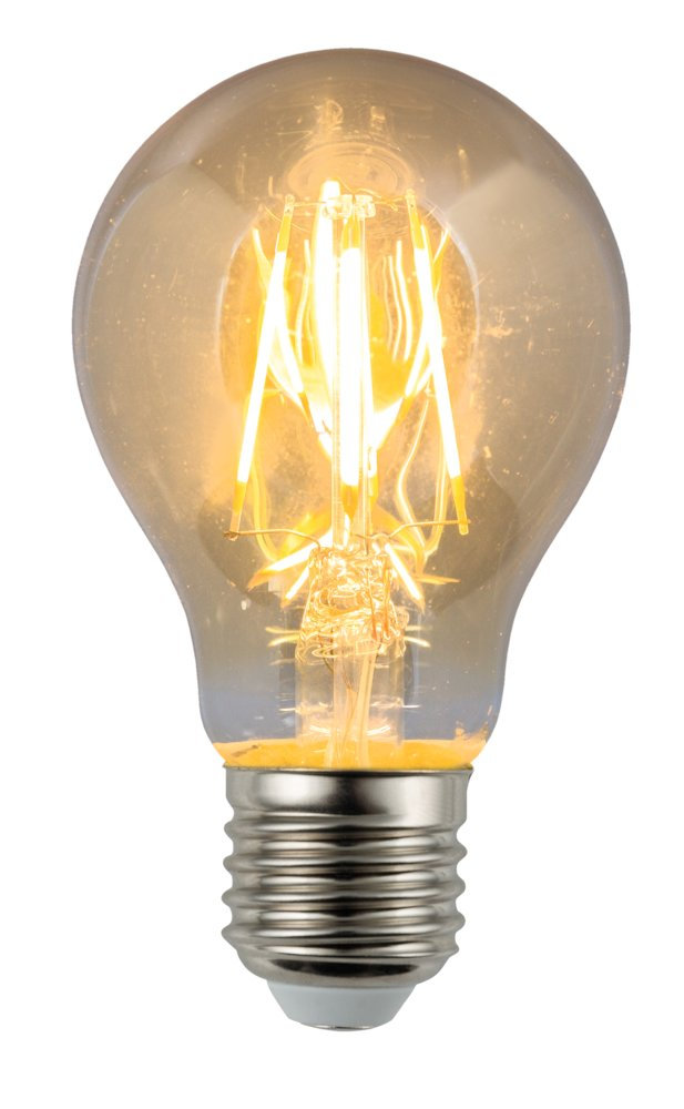 LED Leuchtmittel Vintage Filament, 6W, E27, 2200 K, 600 lm 320°