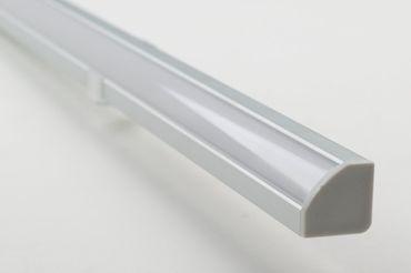 Aluminiumprofil Eckprofil rund 1000x17x17 mm