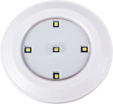 LED Unterbauleuchten 3er Set 0,5W Batteriebetrieben weiß mit Fernbedienung