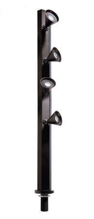 LED Displayleuchte Karva IV 4,8W 6000K H 350mm schwarz