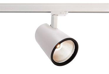 LED 3-Phasen Schienenstrahler Luna 30 30W 4000K 40° weiß dimmbar