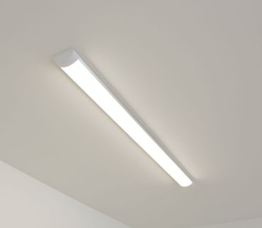 LED Deckenleuchte Aron 36W warmweiß L: 125,5 cm H: 3cm 10849