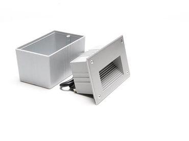 LED Wandeinbauleuchte Side III LED RGB 171x106mm silber-matt IP65