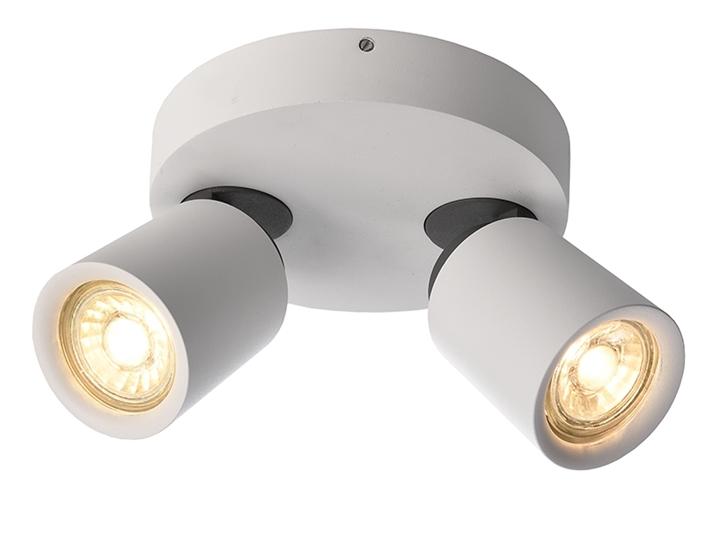 Deckenleuchte Librae Round II GU10 2x50W Ø173mm weiß 2-flammig