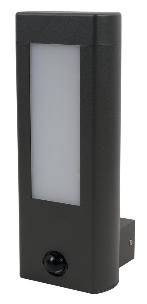 LED Wandleuchte Amarillo mit Sensor 10W 110x280 mm IP44 anthrazit