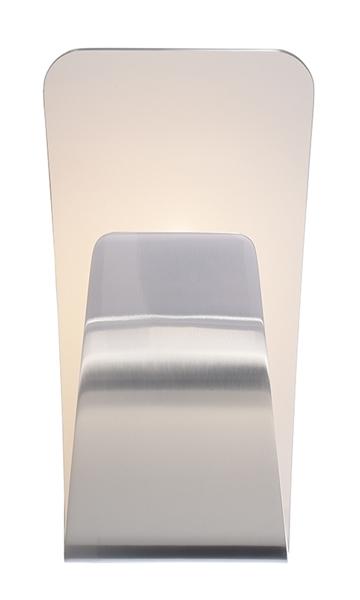 LED UpDown Wandleuchte Canopus 16 W 2000-3000 K 140x265mm silber Aluminium dimmbar