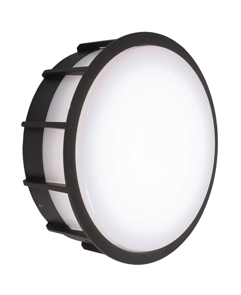 Deko-Light Wandaufbauleuchte Meissa 6,8W Dunkelgrau lackiert