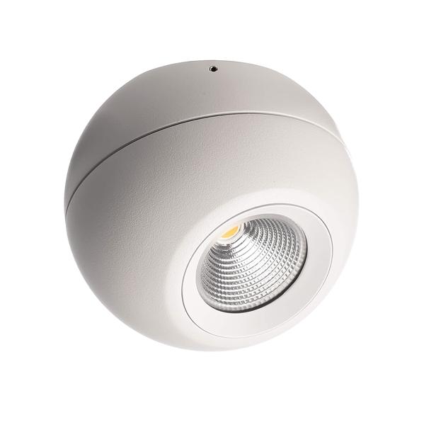LED Deckenleuchte Bellatrix 9W 3000 K 40° drehbar dimmbar weiß IP20