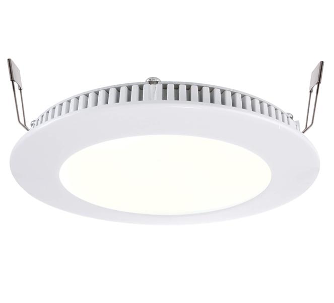 LED Deckeneinbauleuchte LED Panel 8 7W 2700 K weiß D145mm dimmbar Aluminium IP20