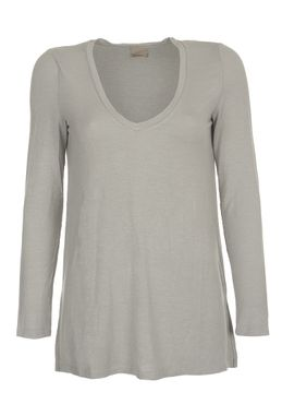 VERO MODA VMEmily Leo Deep V-Neck LS Top NFS – Bild 8