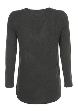 VERO MODA VMEmily Leo Deep V-Neck LS Top NFS – Bild 3