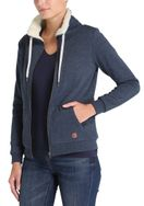 DESIRES Derby Pile Zip Sweatjacke