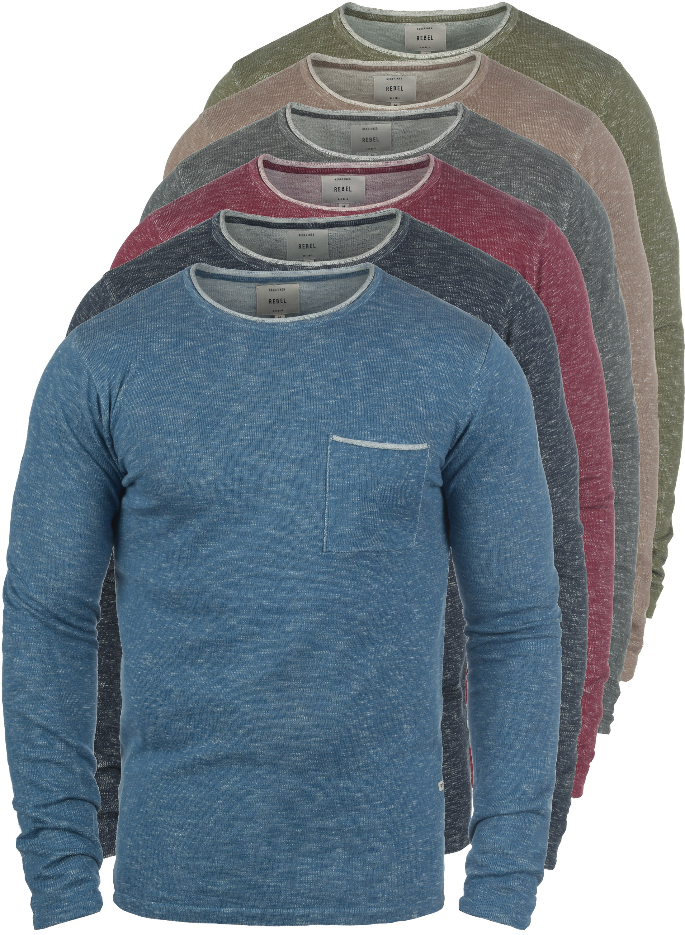 REDEFINED REBEL Maverick Strickpullover