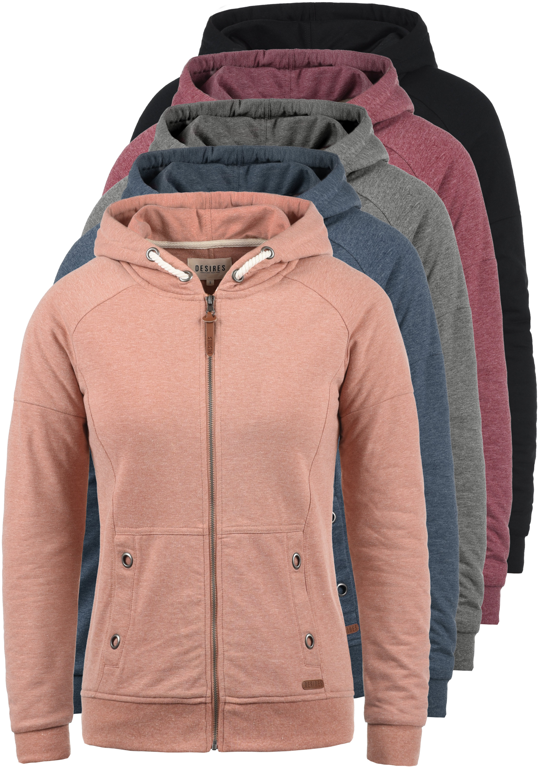 DESIRES Mandy Damen Kapuzenjacke