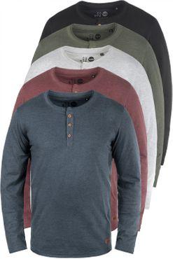 SOLID Tao Grandad L/S Shirt  – Bild 1
