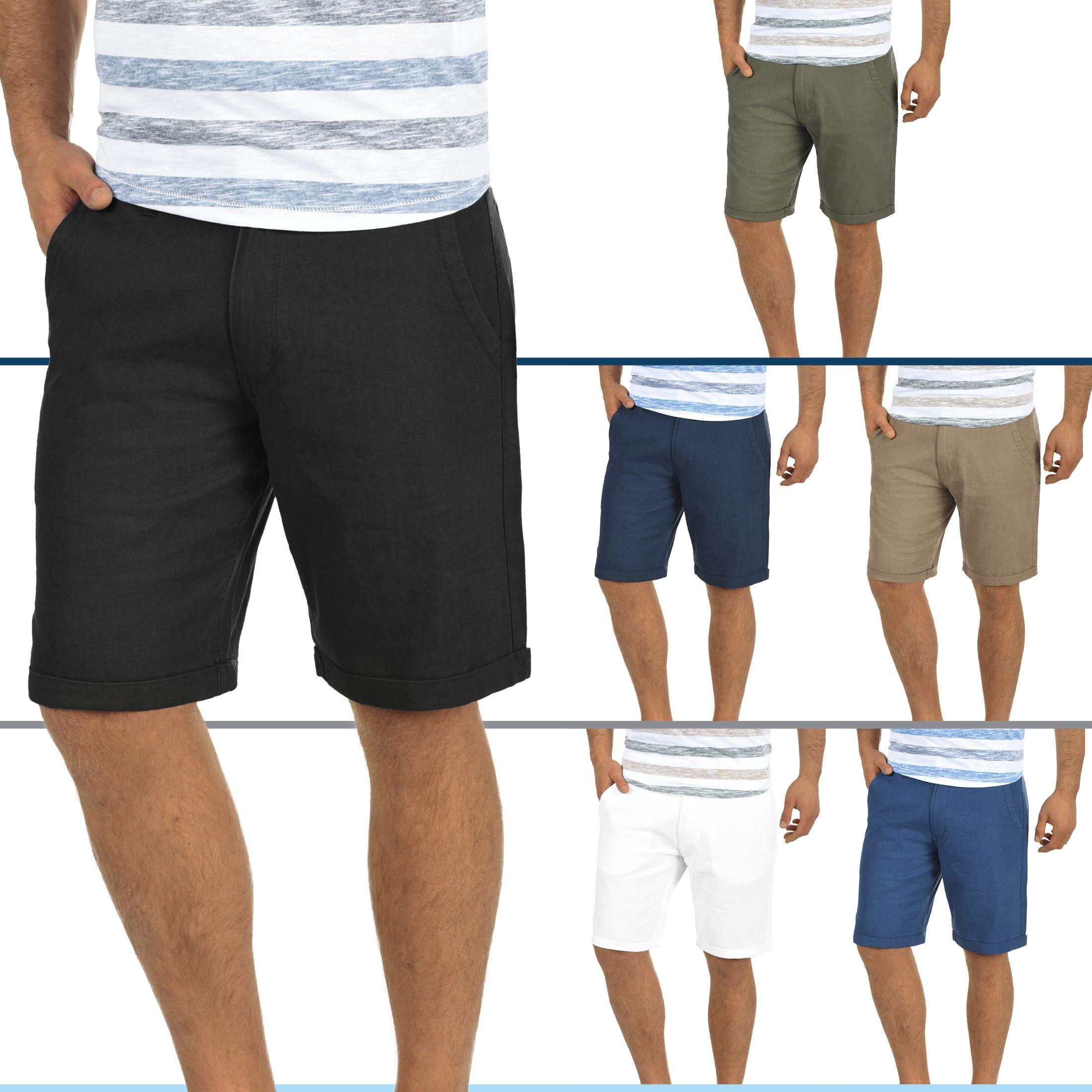 BLEND 20703792ME Nolito Leinen Shorts