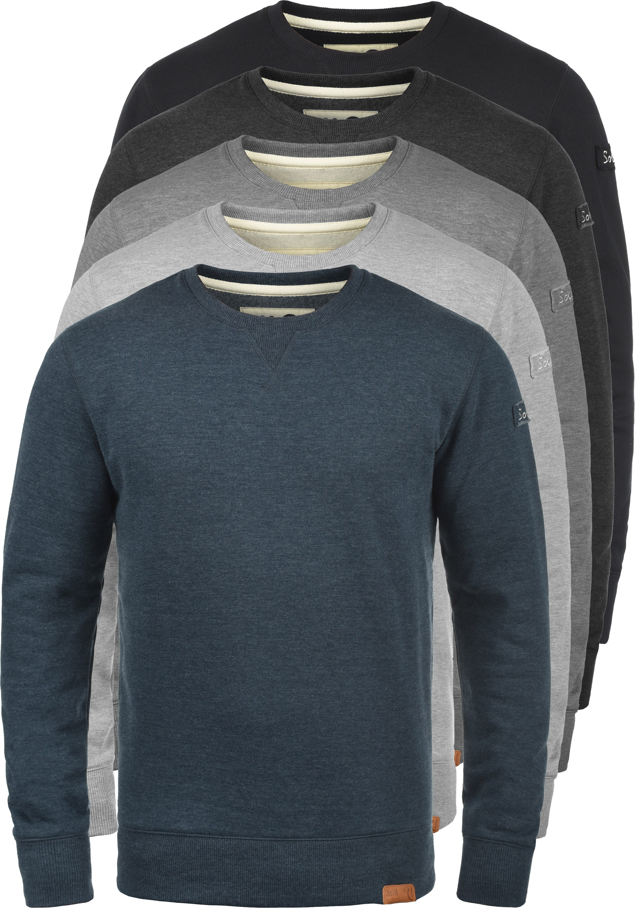 SOLID Trip O-Neck Pullover