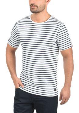 PRODUKT Luis Herren T-Shirt Streifen Shirt Rundhals  – Bild 3
