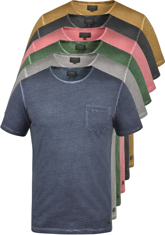 PRODUKT Pancho T-Shirt Kurzarm Rundhals