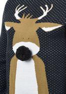 BLEND  20705959ME Deer Strickpullover
