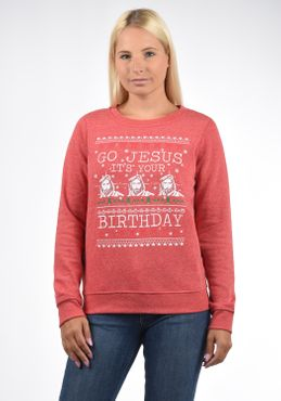 DESIRES Christi Weihnachtspullover – Bild 3