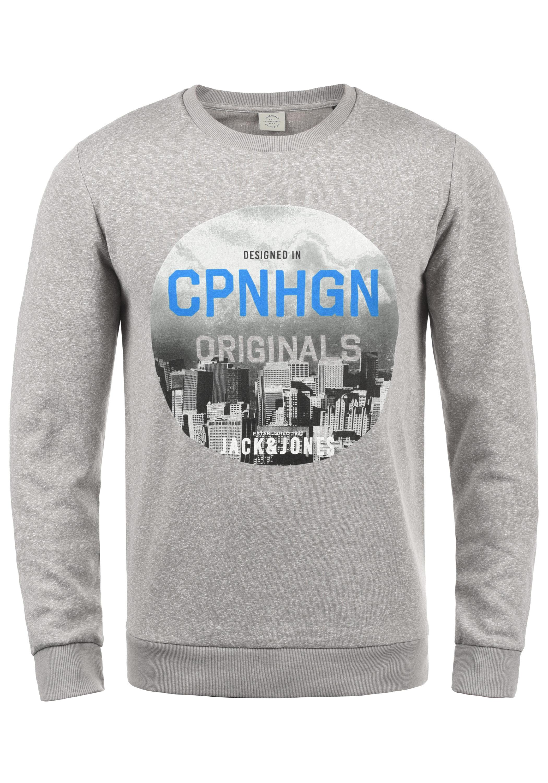 ebbe2423feb5bf JACK   JONES Originals Photosnow Sweatshirt Herren Pullover Sweatshirts