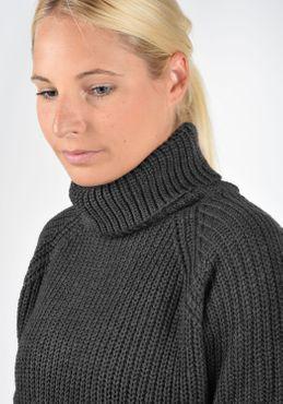 Jacqueline de Yong Romi Rollkragen Pullover Rolli Strickpullover Mit Rollkragen Oversized – Bild 6
