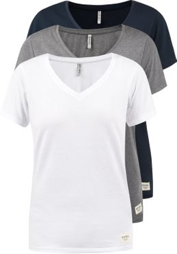 DESIRES Vanni T-Shirt 3er Pack – Bild 1