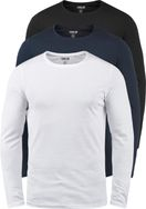 SOLID Basal Longsleeve 3er Pack