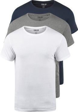 SOLID Portas T-Shirt 3er Pack – Bild 2