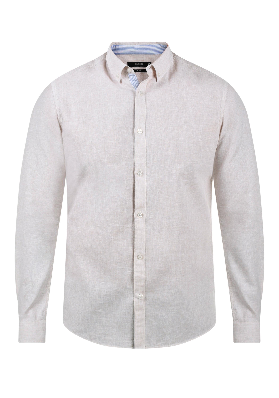 INDICODE Luan Leinenhemd