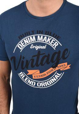 Blend Herren T-Shirt Kurzarm Shirt 20709758 – Bild 10
