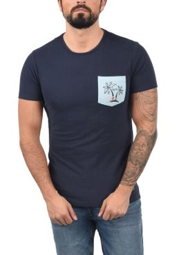 Blend Herren T-Shirt Kurzarm Shirt 20710914 – Bild 7
