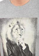 Solid Herren T-Shirt Kurzarm Shirt 21103659