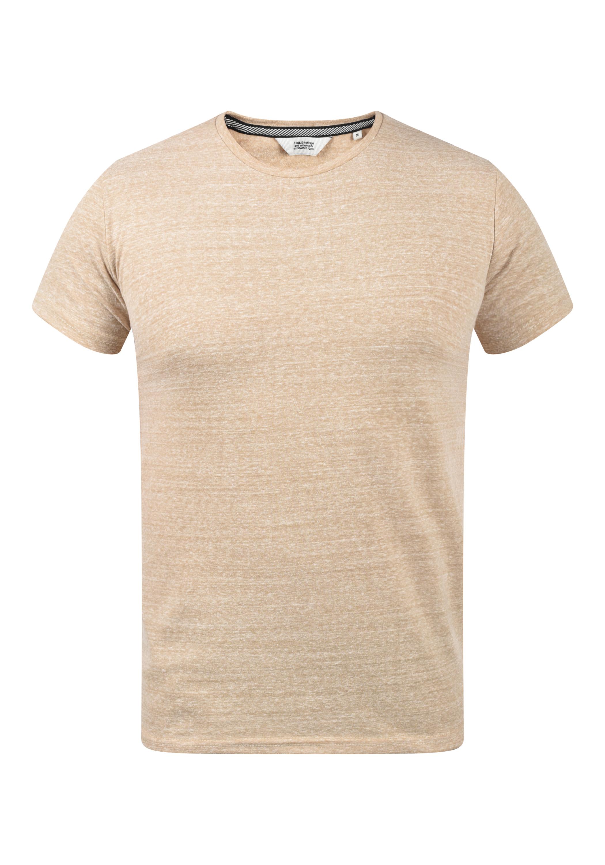 Solid Herren T-Shirt Kurzarm Shirt 21103969