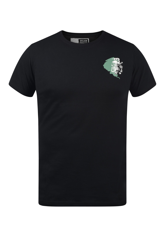 Solid Herren T-Shirt Kurzarm Shirt 21103981