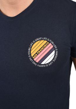 Solid Herren T-Shirt Kurzarm Shirt 21103985 – Bild 5