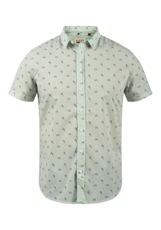 Blend Herren Kurzarmhemd Herrenhemd Hemd 20707829