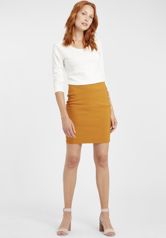 Fransa Damen Longsleeve Langarmshirt Basic Shirt 20603386