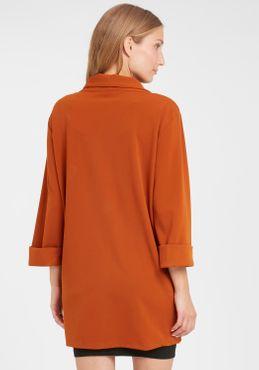 Fransa Damen Blazer Longblazer Jacke Cardigan 20606920 – Bild 2