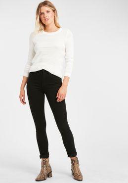 Fransa Damen Strickpullover Feinstrick Pullover 20608034 – Bild 1