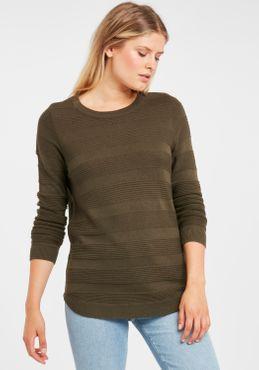 Fransa Damen Strickpullover Feinstrick Pullover 20608034 – Bild 23