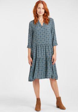 Fransa Damen Blusenkleid Lange Bluse Kleid 20608079 – Bild 5