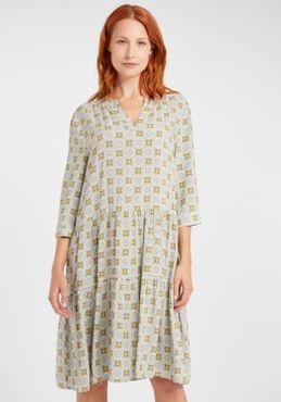 Fransa Damen Blusenkleid Lange Bluse Kleid 20608079 – Bild 11