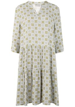 Fransa Damen Blusenkleid Lange Bluse Kleid 20608079 – Bild 12