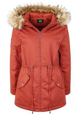 Fransa Damen Winterjacke Damenjacke Jacke Mit Fellkapuze 20608575 – Bild 12