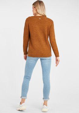 Fransa Damen Strickpullover Feinstrick Pullover 20608727 – Bild 8