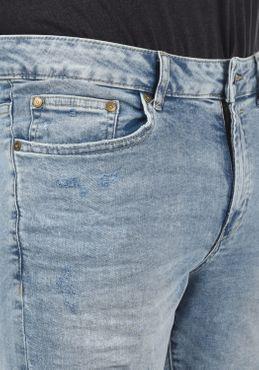 Solid Herren Jeans Shorts Kurze Denim Hose 21104063 – Bild 10